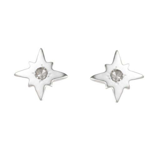 Polaris Diamond Earring - Talisman Collective