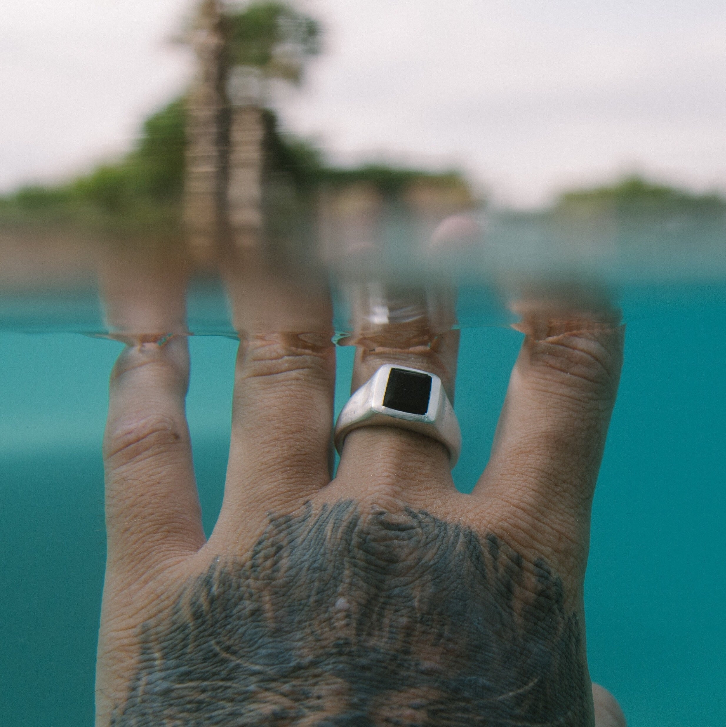 Poseidon Signet Ring - Talisman Collective