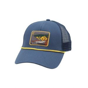 Simms Small Fit Trucker Hat - Conejos River Anglers