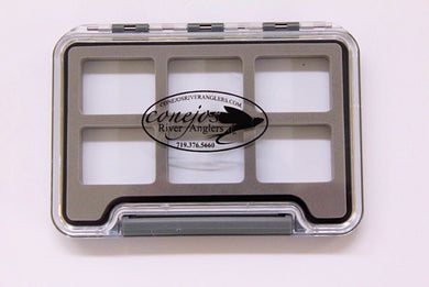 CRA Fly Box  Six Compartment New Phase - Conejos River Anglers