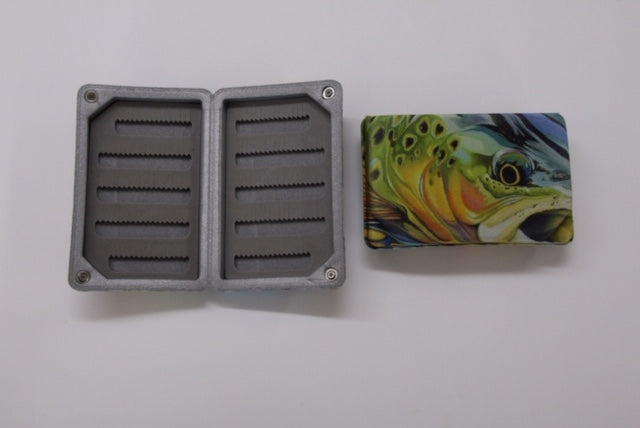 Trout Fly Box with Magnetic Closure New Phase - Conejos River Anglers