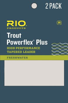 RIO Powerflex Plus Leader 2 Pack - Conejos River Anglers
