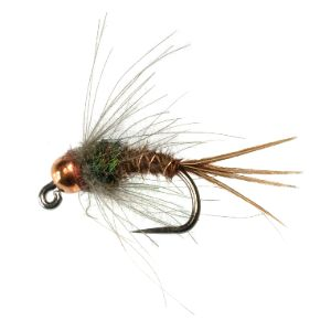 Jiggy CDC Pheasant Tail Flashback TCB - Conejos River Anglers