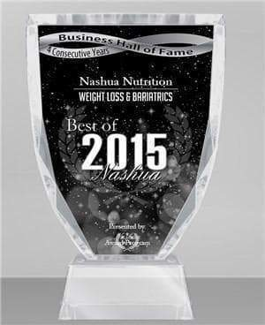 "Nashua Nutrition ""2015 Best of Nashua"" Award Winner"