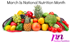National Nutrition Month: Adopt a Nutritious Style