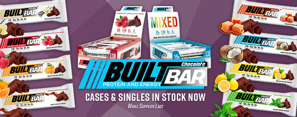 Nashua Nutrition is excited to announce we now carry the full line of Built Bars!