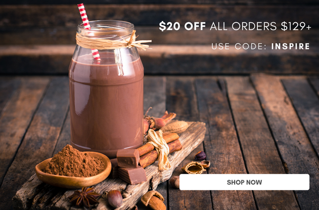 Limited Time! $20 Off All Orders $129+