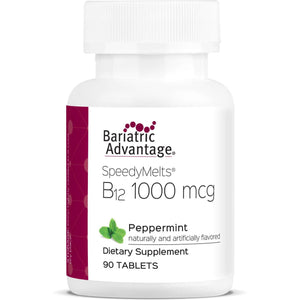 Bariatric Advantage - B12 SpeedyMelts - Peppermint - 90 Count-Nashua Nutrition