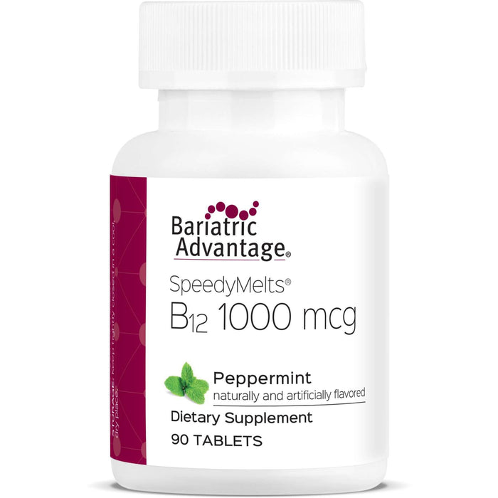 Bariatric Advantage - B12 SpeedyMelts - Peppermint - 90 Count