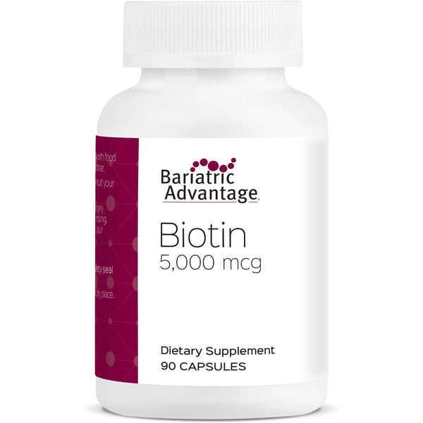 Bariatric Advantage - Biotin (90 Count)-Nashua Nutrition