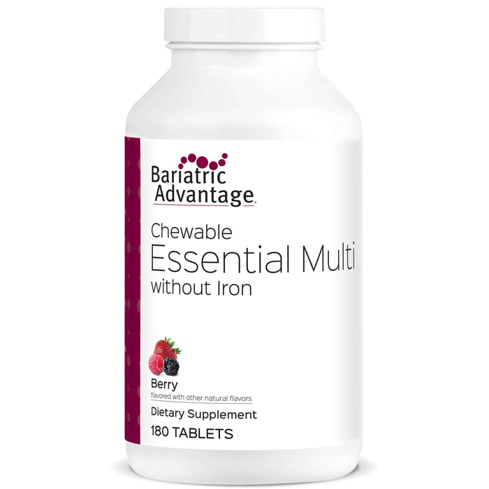 Bariatric Advantage - Chewable Essential Multi - No Iron - Berry - 180 Count