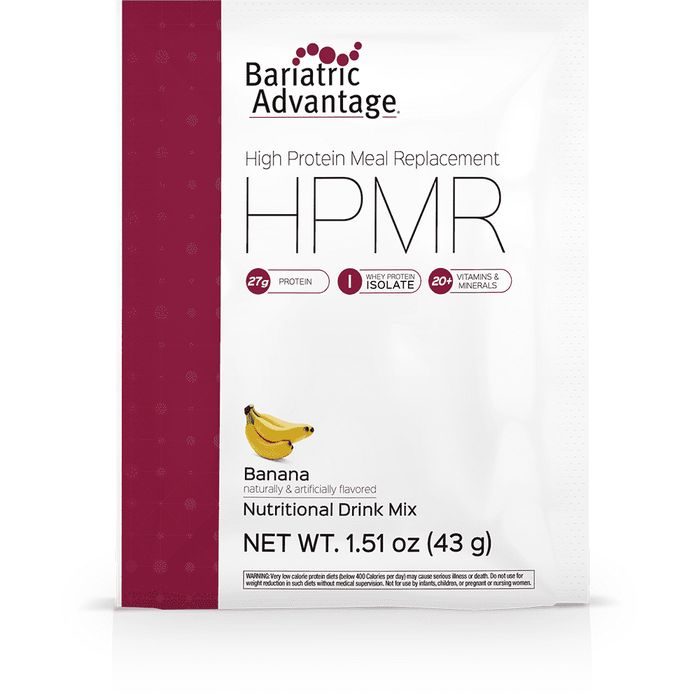 Bariatric Advantage - High Protein Meal Replacement - Banana - Single Serving
