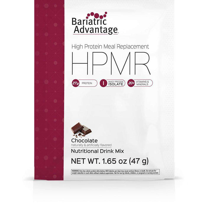 Bariatric Advantage - High Protein Meal Replacement - Chocolate - Single Serving