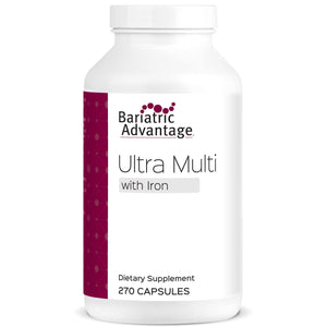 Bariatric Advantage - Ultra Multi Formula with Iron - 270 Capsules - Nashua Nutrition