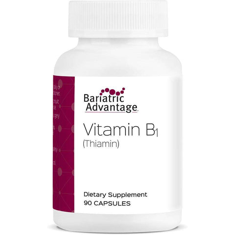 Bariatric Advantage - Vitamin B-1 Thiamine (90 Count)-Nashua Nutrition