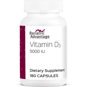 Bariatric Advantage - Vitamin D - 180 Count - Nashua Nutrition