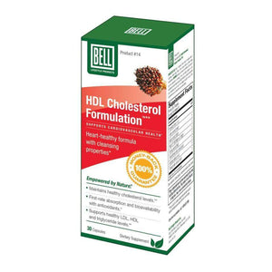 Bell Lifestyle - HDL Cholesterol Formulation #14 (30 Capsules)-Nashua Nutrition