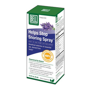 Bell Lifestyle - Helps Stop Snoring Spray #22 (9 ml)-Nashua Nutrition