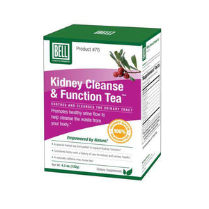 Bell Lifestyle - Kidney Cleanse & Function Tea #76 (2-4 Week Supply)-Nashua Nutrition