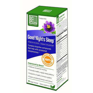 Bell Lifestyle - Sound Sleep #23 (60 Capsules)-Nashua Nutrition