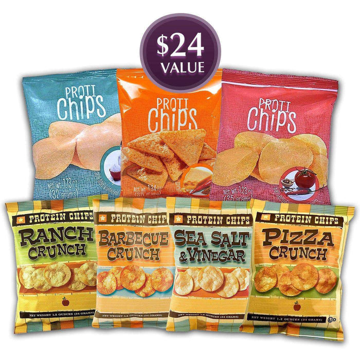 Best of Protein Chips Bundle Saver - 7 Bags