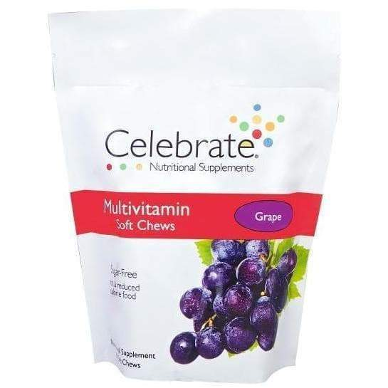 Celebrate Vitamins - Multivitamin - Soft Chews - Grape - 60 Chews