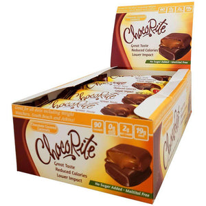 ChocoRite - Diet Chocolate Covered Caramels - 16/Box - Nashua Nutrition