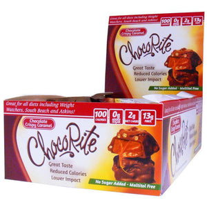 ChocoRite - Diet Crispy Caramels - 16/Box-Nashua Nutrition
