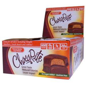 ChocoRite - Diet Peanut Butter Cup Patties - 16/Box-Nashua Nutrition