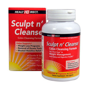 Health Direct - Sculpt n' Cleanse (100 Capsules)-Nashua Nutrition