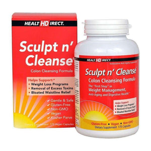 Health Direct - Sculpt n' Cleanse (175 Capsules)-Nashua Nutrition