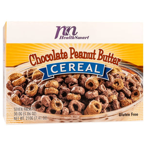 HealthSmart Cereal - Chocolate Peanut Butter - 7/Box - Nashua Nutrition