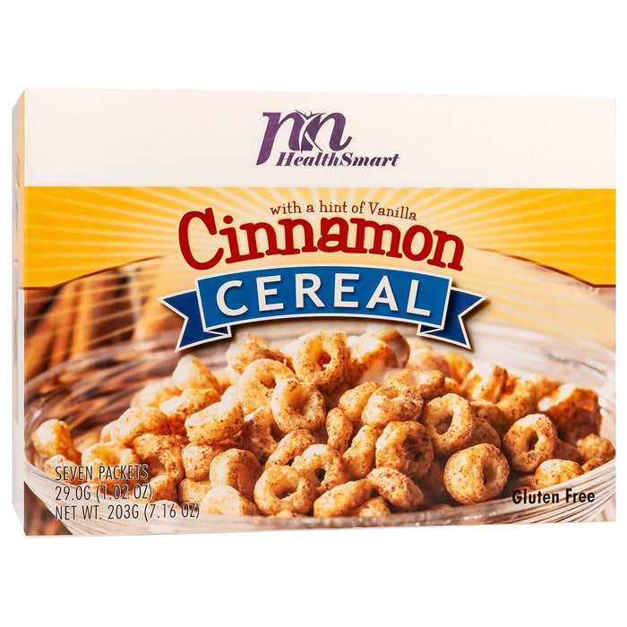 HealthSmart Cereal - Cinnamon - 7/Box