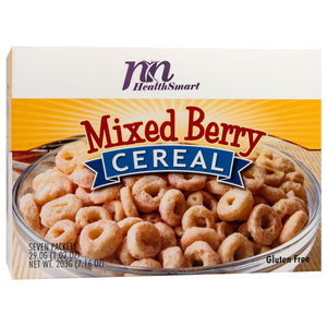 HealthSmart Cereal - Mixed Berry - 7/Box - Nashua Nutrition