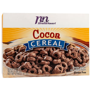 HealthSmart Cereal - Rich Cocoa - 7/Box-Nashua Nutrition