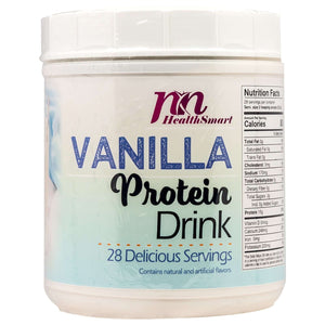 HealthSmart Cold Drink - Instant Vanilla Protein Drink - 28 Serving Canister-Nashua Nutrition