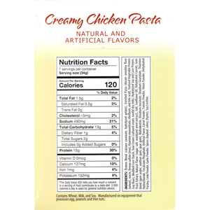 HealthSmart Dinner - Creamy Chicken Pasta - 7/Box - Nashua Nutrition