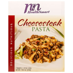 HealthSmart Encore Entree - Cheesesteak Pasta - 7/Box-Nashua Nutrition