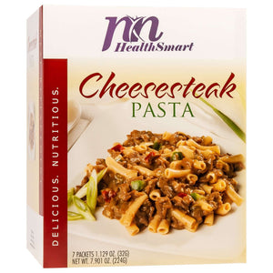 HealthSmart Encore Entree - Cheesesteak Pasta - 7/Box - Nashua Nutrition