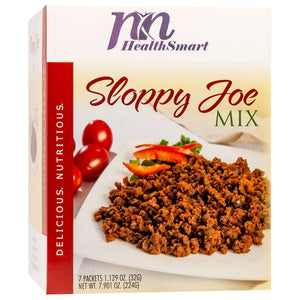 HealthSmart Encore Entree - Sloppy Joe Mix - 7/Box - Nashua Nutrition