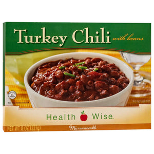 HealthSmart Entree - Turkey Chili with Beans - 1 Dinner - Nashua Nutrition