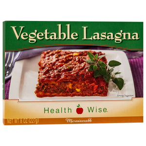 HealthSmart Entree - Vegetable Lasagna - 1 Dinner - Nashua Nutrition