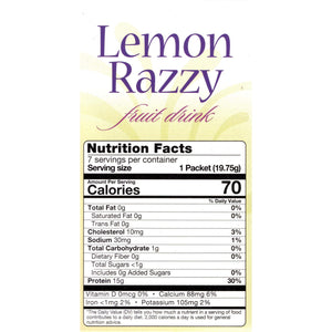HealthSmart Fruit Drink - Lemon Razzy - 7/Box-Nashua Nutrition
