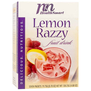 HealthSmart Fruit Drink - Lemon Razzy - 7/Box - Nashua Nutrition