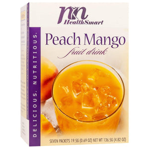 HealthSmart Fruit Drink - Peach Mango - 7/Box-Nashua Nutrition