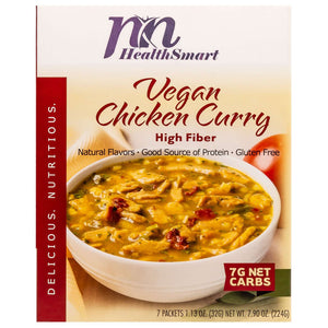 HealthSmart Light Entree - Vegan Chicken Curry - 7/Box - Nashua Nutrition