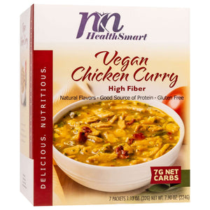 HealthSmart Light Entree - Vegan Chicken Curry - 7/Box-Nashua Nutrition