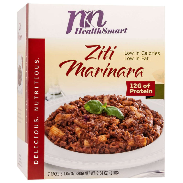 HealthSmart Light Entree - Ziti Marinara - 7/Box