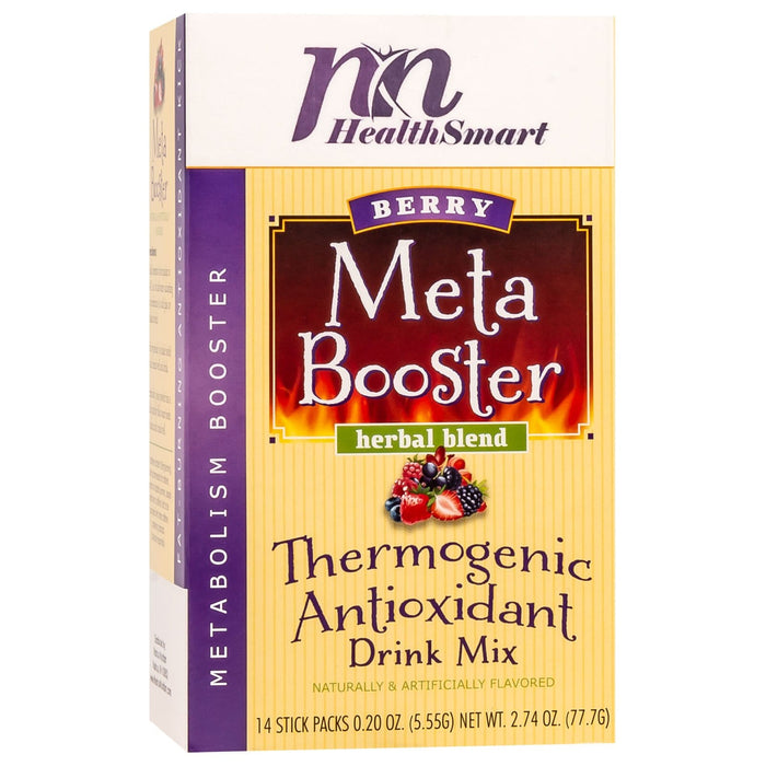 HealthSmart Meta Booster Drink Mix - Berry - 14 Packets/Box