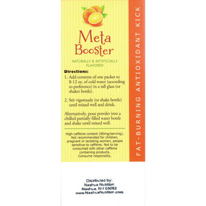 HealthSmart Meta Booster Drink Mix - Orange - 14 Packets/Box-Nashua Nutrition